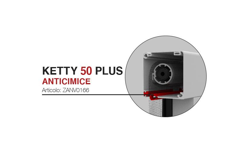 Cassonetto Ketty 50 plus anticimice ZANV0166